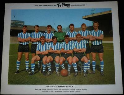 Sheffield Wednesday F.C. team large Typhoo card