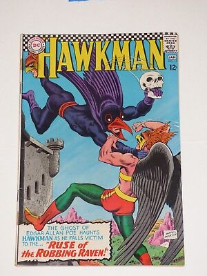 Hawkman #17, 12/1966-1/1967, Very Good+ condition, DC Comics