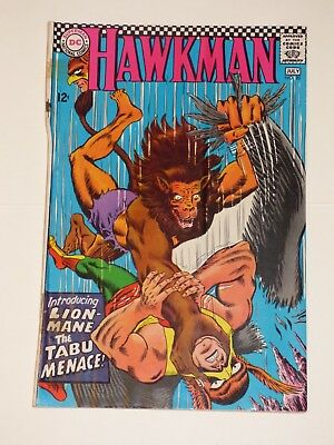 Hawkman #20, 6-7/1967, Very Good+ condition, DC Comics