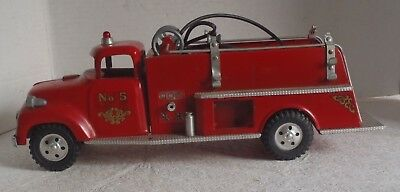 Vintage 1950s Tonka Ford Fire Pumper Truck toy