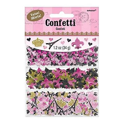Amscan A Day in Paris 3 Pack Confetti 34g