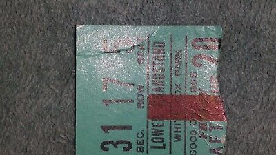 1965 Beatles August 20Th White Sox Park Concert Ticket