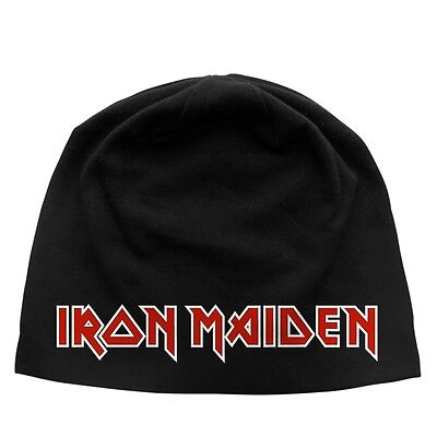IRON MAIDEN Beanie CLASSIC LOGO  Mütze - New Wave Of British Heavy Metal - Eddie