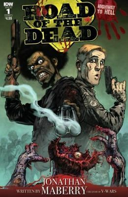 Road of The Dead Highway to Hell #1 Cover A NM 2018 IDW - Vault 35