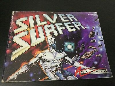 Silver Surfer NES Nintendo Instruction Manual Only