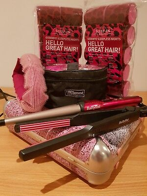 Hair Curler Gift Set Rollers SleepIn Babyliss Tresemme Soap & Glory wand curling