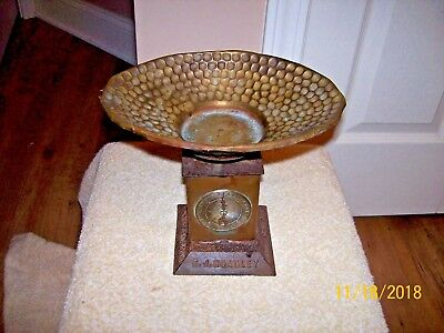 Antique E.j. Hoadley Clock Face Scale - Hartford, Connecticut