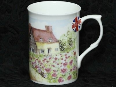 ROSE of ENGLAND ENGLISH COUNTRY COTTAGE Fine Bone China Cylinder Medium Mug #2