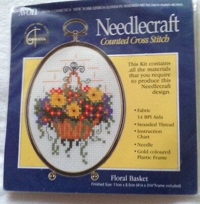needlecraft counted cross stich