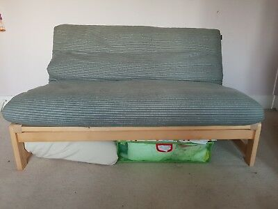 Futon Company Linear Birch 2 Seat Double Sofa Bed Covers Inc