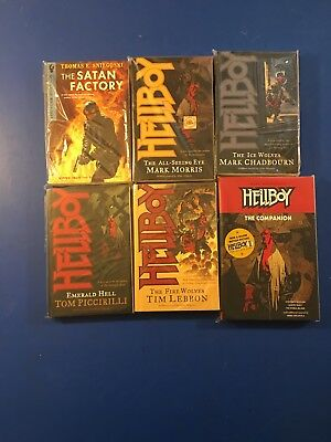 Hellboy + More 11 Tpb Graphic Novel Lot Mike Mignola Movie Soon