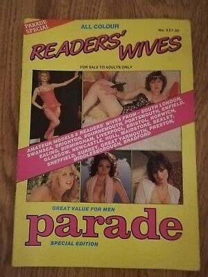 FREE POSTAGE - Readers Wives Parade Special No 3 - Vintage mens glamour magazine