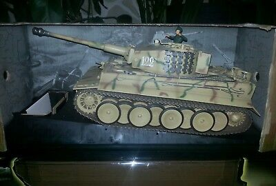 Torro 1:16 Panzer German Tiger 1 OVP 2,4Ghz IR Gefechtssimulation Super Zustand