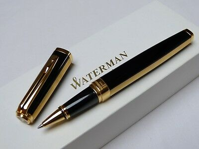 Waterman Exception Rollerball BALL POINT PEN DAY & NIGHT BOXED    NOS   BIG