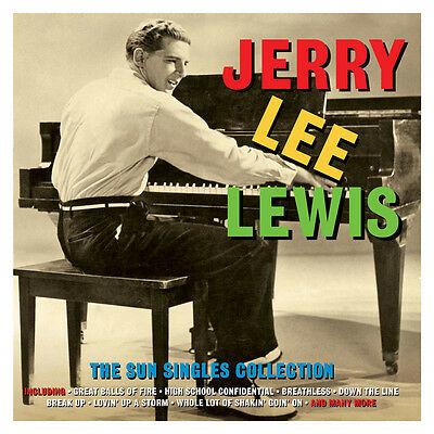 Jerry Lee Lewis - The Sun Singles Collection - Best Of / Greatest Hits 2CD NEW