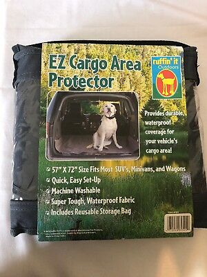 "New EZ Cargo Area Protector 57"" X 72"" Dark Gray by Ruffin' It Outdoors"