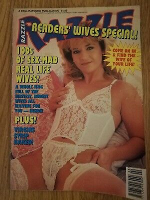 FREE POSTAGE - Razzle Readers Wives Special - Vintage mens glamour magazine