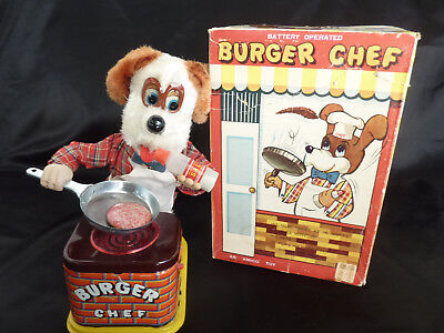 BURGER CHEF YONEZAWA JAPAN 60er JAHRE ORIGINAL KARTON