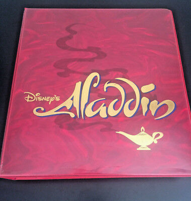 COLLECTOR'S RARE WALT DISNEY ALADDIN Studio Style Guide