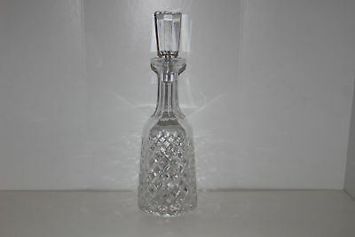 """Waterford Alana Crystal 13.25"""" Decanter W/stopper"""