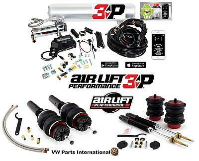 Audi B8 SQ5 Q5 Air Lift Performance Front & Rear Struts Kit with 3P Management