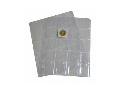 A4 Clear pages Classic Ligthouse coin holders albums 20 slots - Free delivery