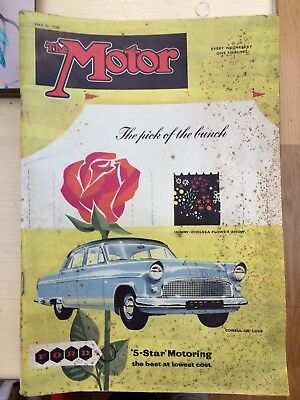 The Motor Magazine, 21st May 1958, One Shilling. Ford Consul de-Luxe