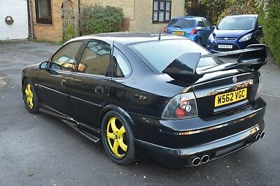 2000 VAUXHALL VECTRA B 2.5 V6 GSi MODIFIED RARE SALOON ONLY 60K FROM NEW LOOK!