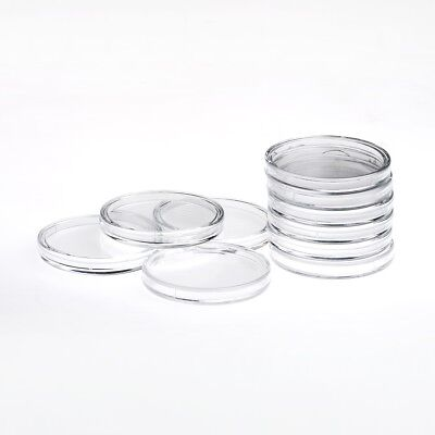 Quality budget rimless round Capsules forold one pound coins 23mm multibuypack