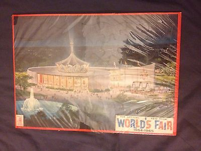 1964-65 NEW YORK WORLD'S FAIR SOUVENIR The Original Vintage Rare JIGSAW PUZZLE