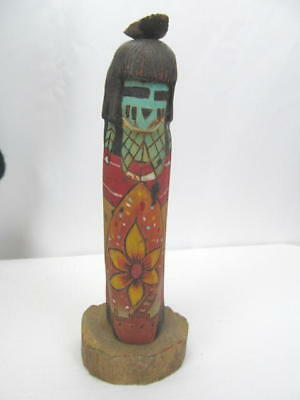 Kachina--Tewa Corn Mana By Sharon Grover