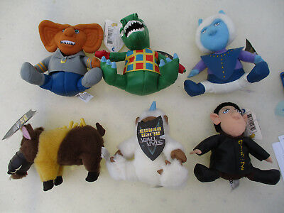 Star Trek Plush Doll Figure Set Limited Edition TOS TNG Classic Sci Fi 1998
