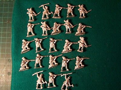 North American Indians, Galloping Major,  FIW,  28mm