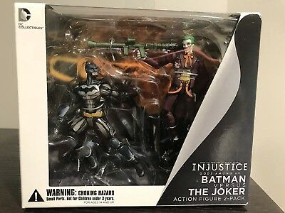 "Dc Comics Injustice: Batman & The Joker 2-Pack  3.75"" Action Figure"