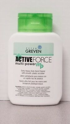 Greven Active Force Multi-Power Extra Heavy Duty Hand Cleaner, 8.5 oz