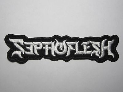 SEPTICFLESH logo embroidered NEW patch death metal