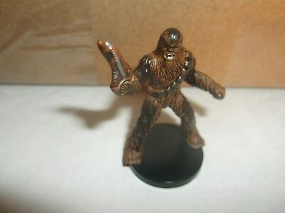 Chewbacca of Kashyyyk (without card) Star Wars Miniatures Revenge of the Sith