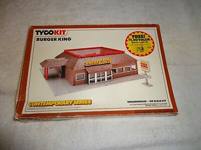 H/o Scale Building #7725 Tyco Burger King