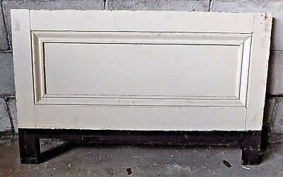 Antique Italianate Wainscot Trim Panel - C. 1860 Fir Architectural Salvage