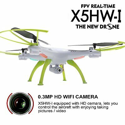 Syma X5HW-I RC Quadcopter Wifi FPV Drone 2.4Ghz 4CH Altitude Hold HD Camera LIVE