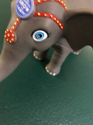 """1F The Ringling Bros Greatest Show On Earth Circus Toy Rubber Elephant 14"""" SIZE!"""