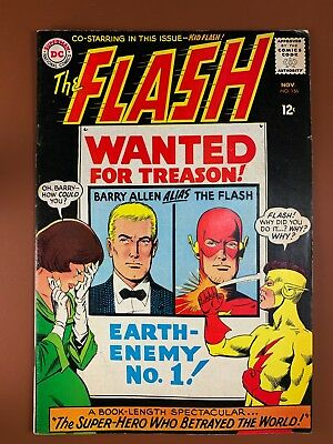 The Flash #156 DC Comics Kid Flash appearance Silver Age NO RESERVE