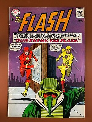 The Flash #147 DC Comics Reverse Flash appearance Silver Age NO RESERVE