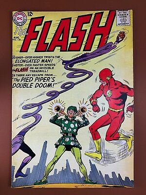 The Flash #138 DC Comics Pied Piers & Elongated Man appearance Silver Age