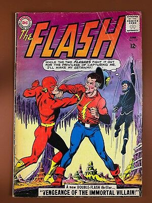 The Flash #137 DC Comics Golden Age Flash appearance Silver Age NO RESERVE