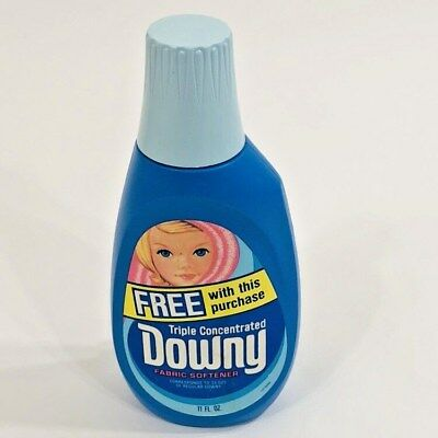 New 70's Vintage Downy Fabric Softener 11oz Collectible Prop Full Bottle