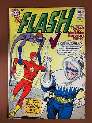 The Flash #134 DC Comics Elongated Man & Captain Cold appearance Silver Age