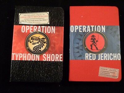 Operation Red Jericho & Operation Typhoon Shore by Joshua Mowell, HCs, Excellent