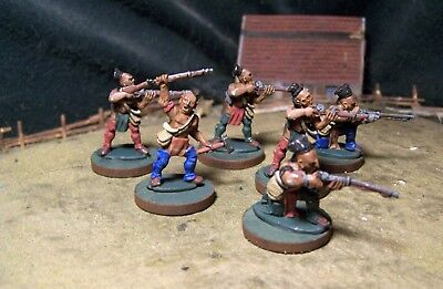 North American Indians, FIW,  28mm