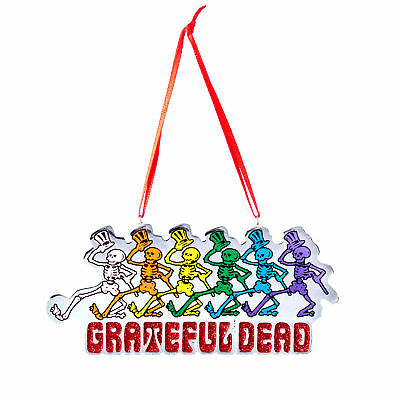 Grateful Dead Collectible: 2014 Dancing Skeletons Christmas Tree Ornament